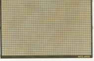 ФТД Сетка прямая плетёная (ячейка 0,5х0,5) 62х24 мм 2шт./компл