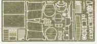 ФТД Me-109 G-6 (интерьер кабины, ниши и створки шасси базуки)