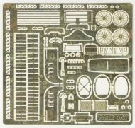 ФТД Pfalz D XII (интерьер кабины, спицованные колёса, крепёж растяжек, кожуха пулемётов, радиатор и т.д.) - TOKO