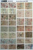 Немецкие + советские топографические карты WWII