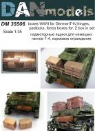 ФТД надмоторные ящики для немецких танков T-IV