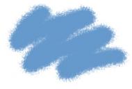 Краска акриловая серо-голубая