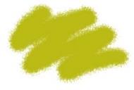 Краска акриловая желто-оливковая