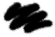 Краска акриловая черная