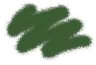 Краска акриловая серо-зеленая
