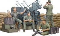 Солдаты German Anti-Aircraft Gun Crew